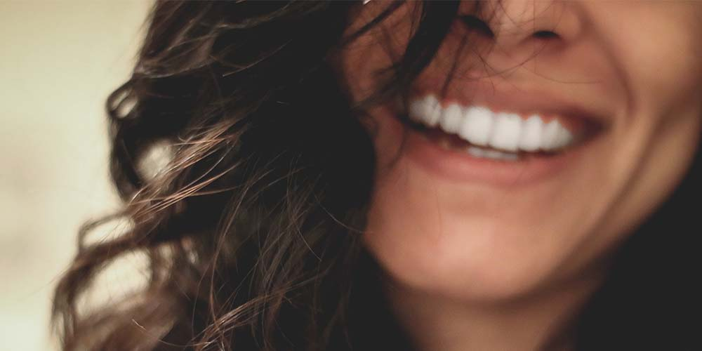 Close up of a woman smiling