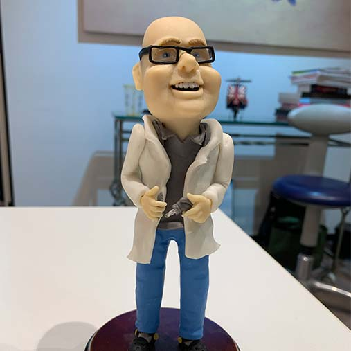 Model of Dr Finkelstein